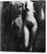 Nude Couple, 1910 Canvas Print