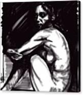 Nude Girl 1 Canvas Print