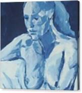 Nude I Canvas Print