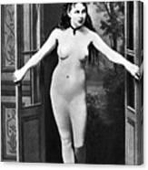Nude In Doorway, C1865 Canvas Print