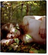 Nude In Nature 4 Canvas Print
