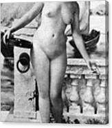 Nude In Venice, 1902 Canvas Print