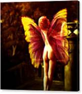 Nude Roman Fairy Canvas Print