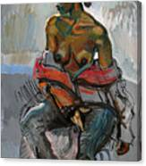Nude-s Canvas Print