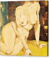 Nude Series, #3 Canvas Print