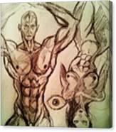 Nude Sketch 49 Canvas Print