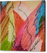 Nude Study K Canvas Print
