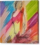 Nude Study R Canvas Print