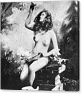 Nude With Birds, 1897 Canvas Print