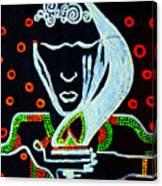 Nuer  Wise Virgin Canvas Print