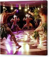 Nuku Hiva Dancers Canvas Print