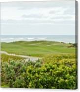 Number 1 From The Whites At Spanish Bay Canvas Print