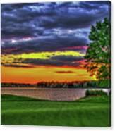 Number 4 The Landing Reynolds Plantation Golf Art Canvas Print