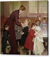 Nursery School Canvas Print