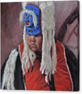 Nuxalk Dancer Canvas Print