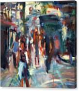 Ny City People Canvas Print