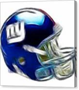 Ny Giants Helmet - Fantasy Art Canvas Print