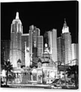 Ny Ny In Bw Canvas Print