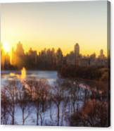 Ny Winter Panaroma Canvas Print