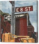 Nyc 8th Street Canvas Print