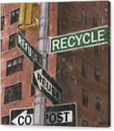 Nyc Broadway 1 Canvas Print