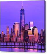 Nyc From Hoboken Canvas Print