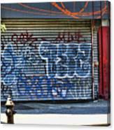 Nyc Graffiti Canvas Print