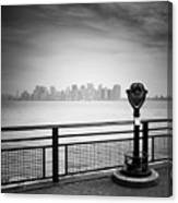 Nyc Manhattan View Canvas Print