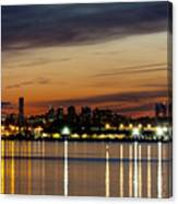 Nyc On A Still Night Canvas Print