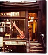 Nyc Parfumerie Canvas Print