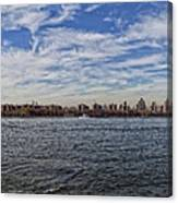 Nyc Skyline From Williamsburg Canvas Print
