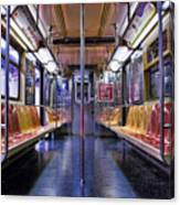 Nyc Subway Canvas Print