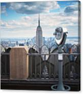 Nyc Viewpoint Canvas Print