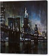 N.y.city Canvas Print