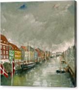 Nyhavn Copenhagen Canvas Print
