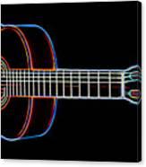 Nylon Acoustic Canvas Print