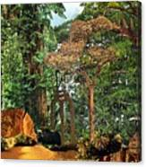 Nymph Forest Canvas Print