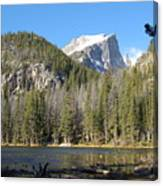 Nymph Lake In Rocky Mountain National Park Canvas Print
