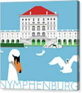 Nymphenburg Palace Canvas Print