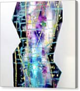 Nyx - Night Goddess Canvas Print