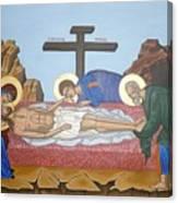 O Epitafos Jesus Canvas Print