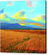O Prairie Mother Canvas Print