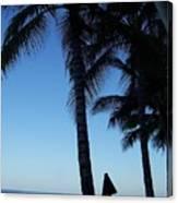 Oahu Beach Canvas Print