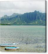 Oahu, Kaneohe Bay Canvas Print