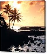 Oahu, North Shore Canvas Print
