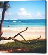 Oahu North Shore Canvas Print