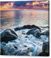 Oahu Shoreline Canvas Print