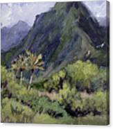 Oahu Valley Canvas Print