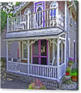 Oak Bluffs Gingerbread Cottages 7 Canvas Print