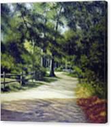 Oak Court, East Marion Canvas Print